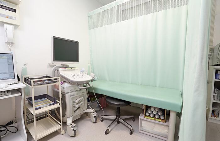 診察室です。何でもご相談ください。