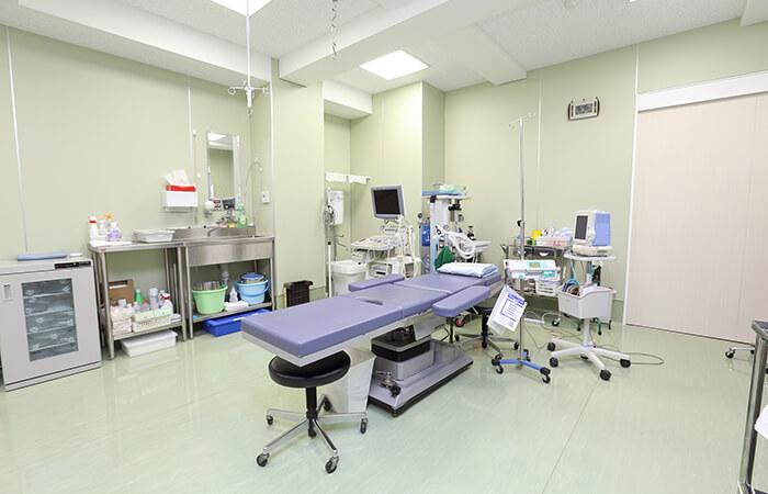 当院では、日帰り手術を実施しています。